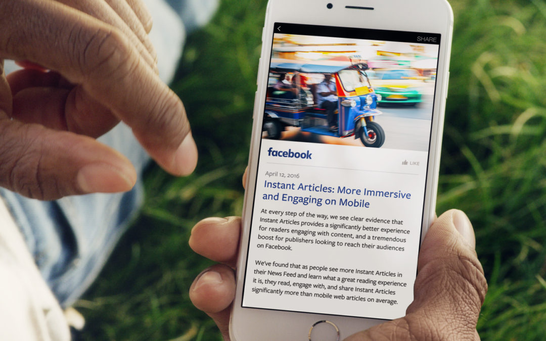 How News Organizations Can Drive Revenue from Facebook Instant Articles