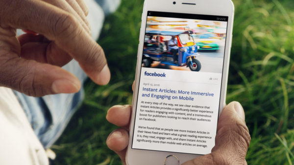 how news organizations use instant articles