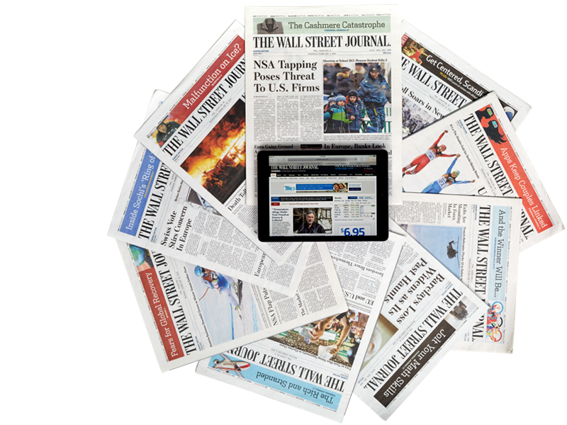 Mediaspectrum AdWatch upgrade at the Wall Street Journal
